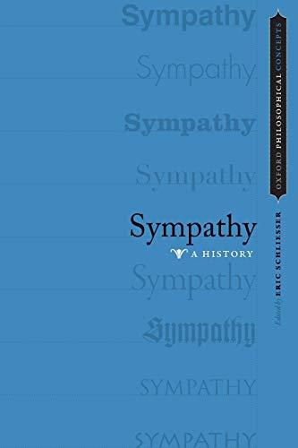 9780199928897: Sympathy: A History