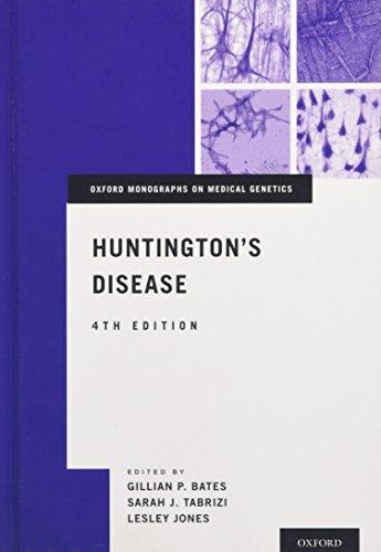 9780199929146: Huntington's Disease (Oxford Monographs on Medical Genetics)