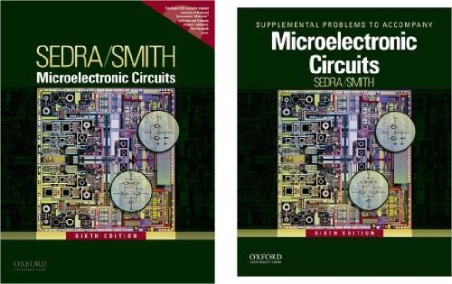 9780199931507: Microelectronic Circuits (Package: Textbook + Supplemental Problems)