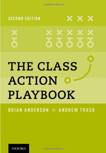 9780199933785: The Class Action Playbook