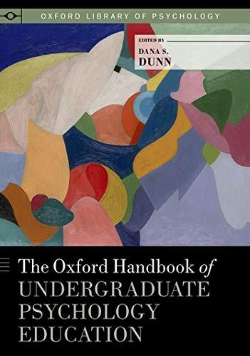 9780199933815: The Oxford Handbook of Undergraduate Psychology Education (Oxford Library of Psychology)