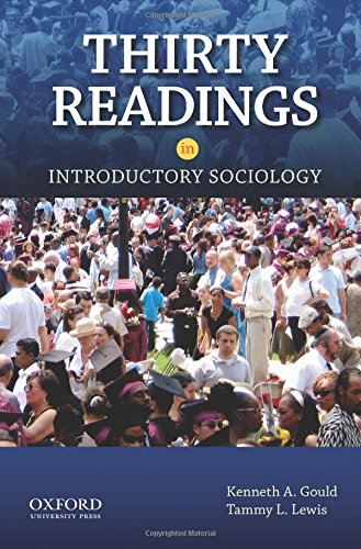 9780199934928: Thirty Readings in Introductory Sociology