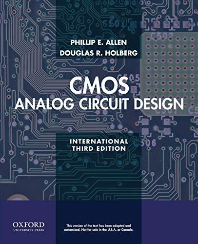 9780199937424: CMOS Analog Circuit Design
