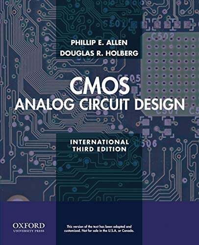 9780199937424: CMOS Analog Circuit Design