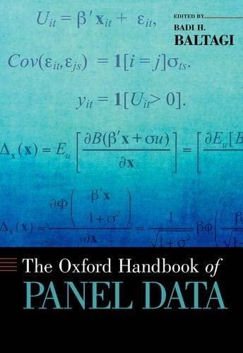 9780199940042: The Oxford Handbook of Panel Data (Oxford Handbooks)