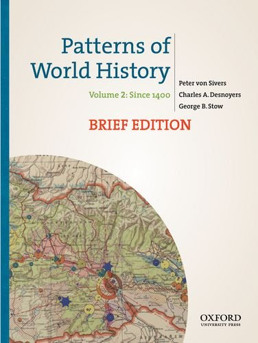 9780199943760: Patterns of World History, Brief Edition: Volume Two: Since 1400
