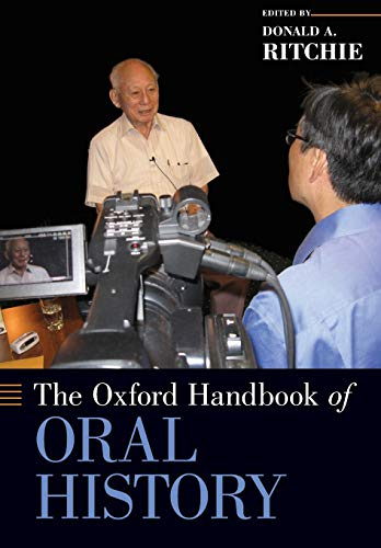9780199945061: The Oxford Handbook of Oral History (Oxford Handbooks)