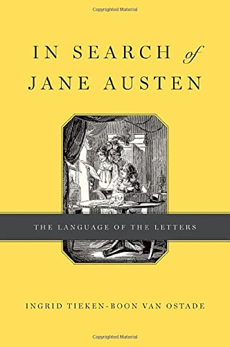 9780199945115: In Search of Jane Austen: The Language of the Letters