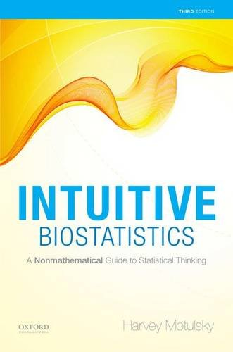 9780199946648: Intuitive Biostatistics: A Nonmathematical Guide to Statistical Thinking, 3rd edition