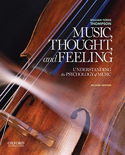 9780199947317: Music, Thought, and Feeling: Understanding the Psychology of Music