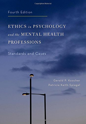 9780199957699: Ethics in Psychology and the Mental Health Professions: Standards and Cases