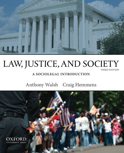 9780199958535: Law, Justice, and Society: A Sociolegal Introduction