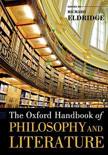 9780199965496: The Oxford Handbook of Philosophy and Literature (Oxford Handbooks)