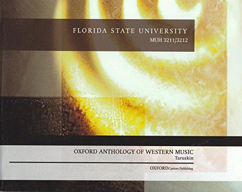 9780199971817: Oxford Anthology Of Western Music