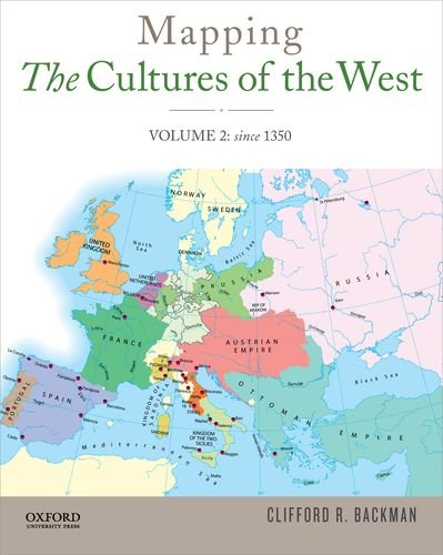 Mapping the Cultures of the West, Volume: Backman, Clifford R.