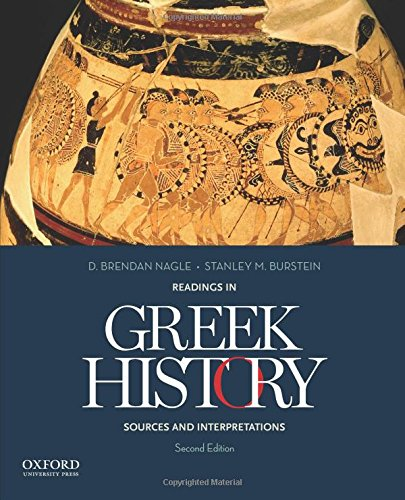 9780199978458: Readings in Greek History: Sources and Interpretations
