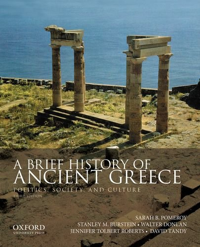 9780199981557: A Brief History of Ancient Greece: Politics, Society, and Culture