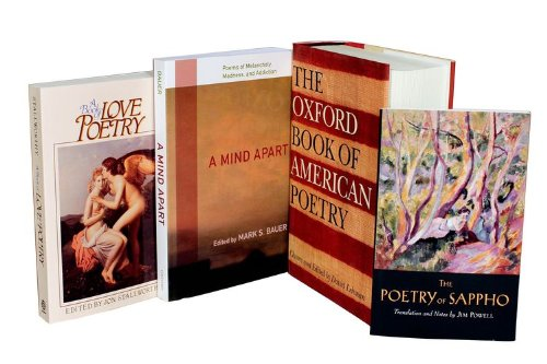 9780199982486: The Oxford Book of American Poetry / The Poetry of Sappho / A Mind Apart / A Book of Love Poetry