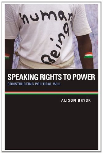 9780199982660: Speaking Rights to Power: Constructing Political Will