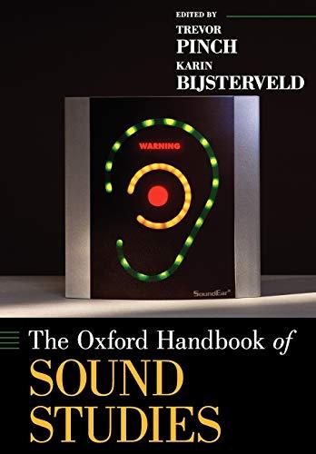 9780199995813: The Oxford Handbook of Sound Studies (Oxford Handbooks)