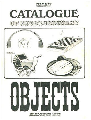 9780200719377: Catalogue of Extraordinary Objects