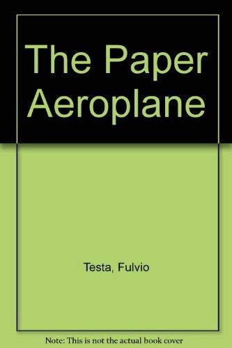 9780200729352: The Paper Aeroplane