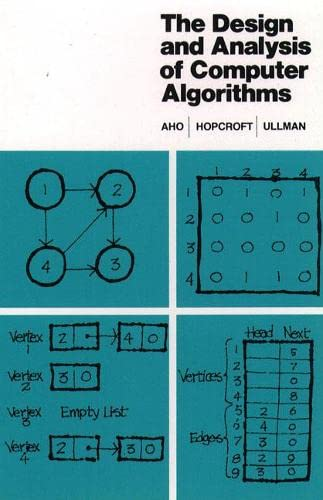 9780201000290: The Design and Analysis of Computer Algorithms (Series in Computer Science & Information Processing)