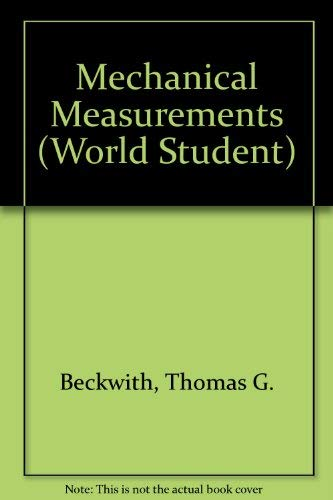 Mechanical Measurements Beckwith Pdf