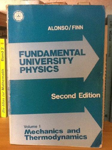 9780201001617: Fundamental University Physics: v.1: Vol 1 (World Student)