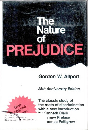 9780201001785: The Nature of Prejudice