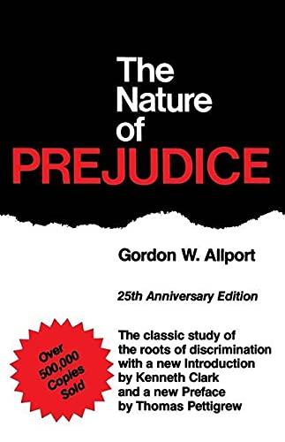 9780201001792: The Nature of Prejudice: 25th Anniversary