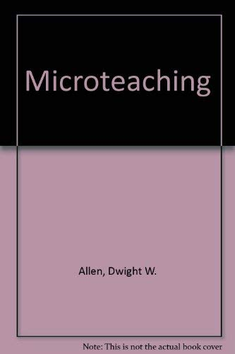 9780201002218: Microteaching