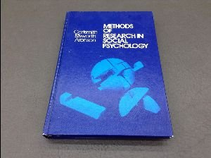 9780201003468: Methods of Research in Social Psychology