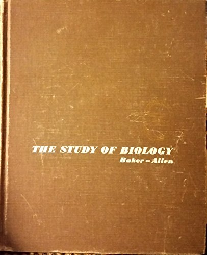 9780201003673: The Study of Biology
