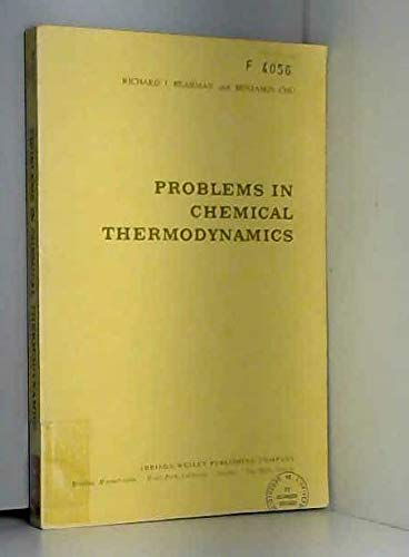 9780201004359: Problems in Chemical Thermodynamics