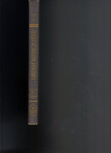 Elementary Theory of Analytic Functions of One: Henri Cartan
