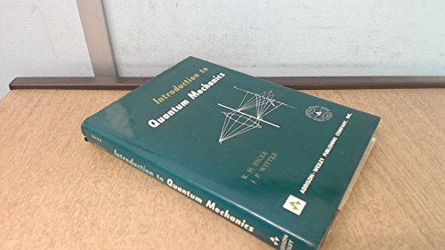 9780201015102: Introduction to Quantum Mechanics