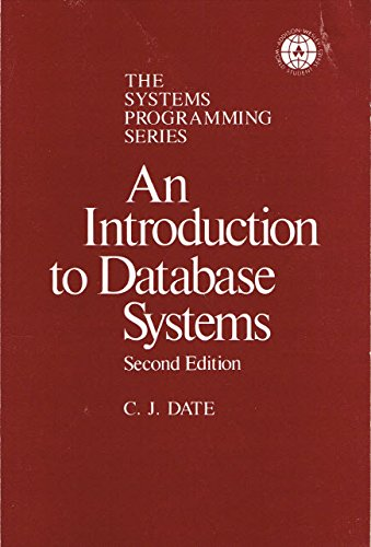 9780201015300: Introduction to Data Base Systems: v. 1