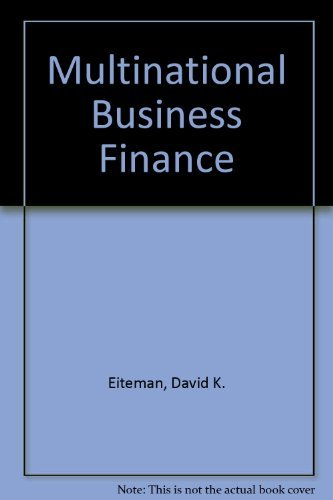 multinational business finance 10th edition solution Solution manual new venture creation 10th edition spinelli download free sample here to see what is in this solution manual multinational business finance 14th edition eiteman note : this is not a text book.