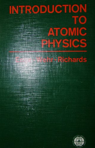9780201018790: Introduction to Atomic Physics