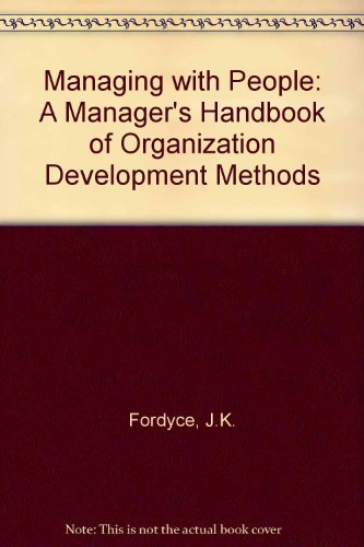 9780201020311: Managing with People: Managers Handbook Organization Development (2nd Edition)