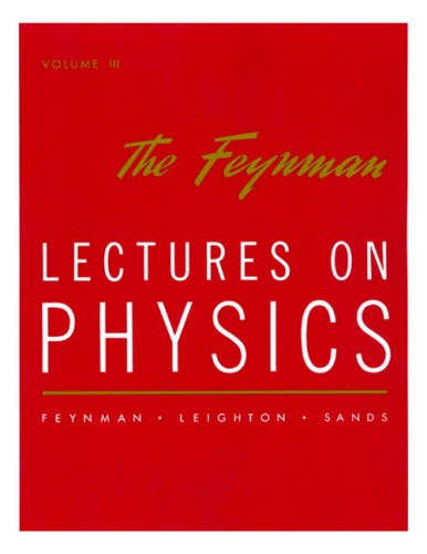 9780201021189: The Feynman Lectures on Physics, Vol. 3