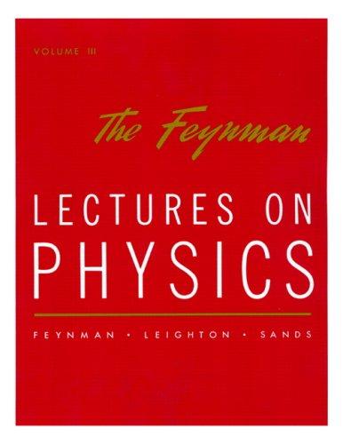 9780201021189: Lectures on Physics: Quantum Mechanics v. 3 (World Student)