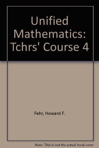 9780201022520: Unified Mathematics: Teacher's Course 4