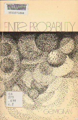9780201023329: Finite Probability
