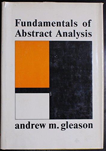 9780201024104: Fundamentals of Abstract Analysis
