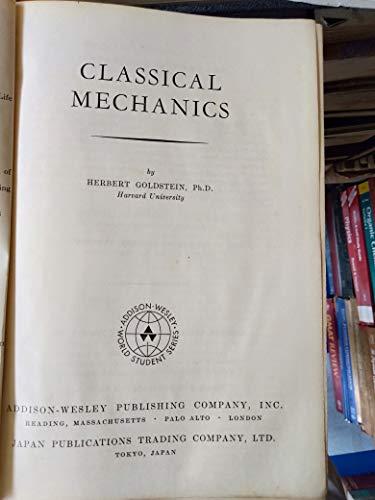 9780201025125: Classical Mechanics