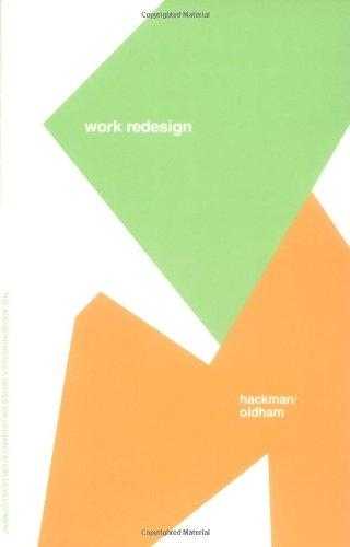 9780201027792: Work Redesign (Prentice Hall Organizational Development Series)