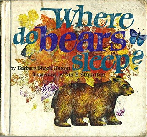 9780201028010: Where Do Bears Sleep
