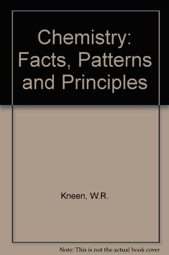 9780201032185: Chemistry: Facts, Patterns and Principles